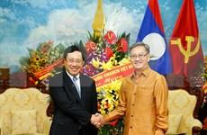 Felicita vicepremier vietnamita a Laos por festival Bunpimay