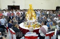 Celebra Embajada de Laos en Vietnam fiesta de año nuevo Bunpimay