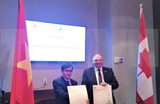 Firman Vietnam y Canadá memorando de cooperación en auditoría