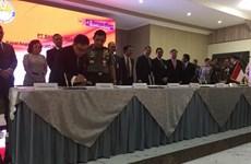 Indonesia firma grandes contratos de armamento y construcción militar