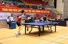 Inauguran el torneo internacional de tenis de mesa en Hai Duong