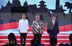 Candidatos presidenciales de Indonesia encaran último debate