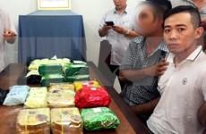 Incautan en Vietnam 26 kilogramos de drogas transportados desde Camboya