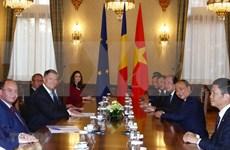 Solicita Vietnam respaldo de Rumania para ratificación de acuerdo comercial con UE