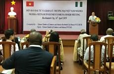 Buscan Vietnam y Nigeria vías para fomentar la cooperación en inversión y comercio