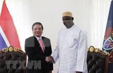 Promueve Gambia el fortalecimiento de sus  nexos comerciales con Vietnam