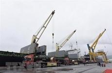 Exporta corporación vietnamita cinco mil toneladas de chapas de acero a Malasia