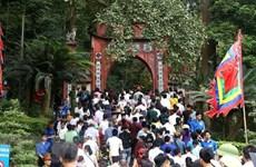 Recibió Phu Tho a siete millones de visitantes durante festival en honor a los reyes Hung