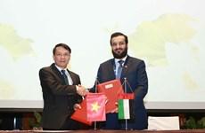 Firman acuerdo de colaboración las  agencias de noticias de Vietnam y de Emiratos Árabes Unidos
