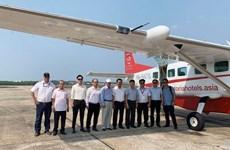 Ofrecerán servicios aéreos para observar imágenes de Phong Nha-Ke Bang
