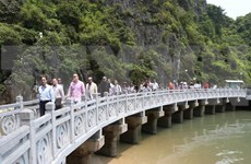 Delegados de la OANA aprecian belleza de la Bahía de Ha Long