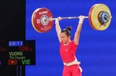 Gana pesista vietnamita tres medallas de oro en campeonato asiático de halterofilia