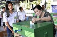 Repite Tailandia en seis colegios electorales las votaciones de comicios generales