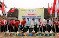 Construyen en capital de Vietnam 154 casas para familias desfavorecidas