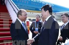 """Premier vietnamita llega a Beijing para participar en foro sobre """"la Franja y la Ruta"""""""