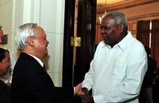 Parlamentos vietnamita y cubano reiteran disposición de fortalecer cooperación