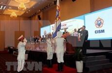 Concluyen Asamblea General del Consejo Internacional del Deporte Militar