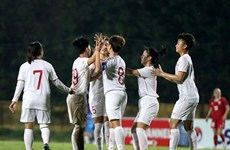 Selección femenina sub-19 de Vietnam se clasifica al Campeonato de Fútbol Asiático