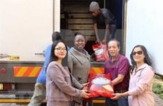Vietnamitas en Sudáfrica asisten a víctimas de inundaciones en Zimbabue