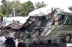 Registran casi 100 muertos por accidentes de tráfico en días feriados en Vietnam