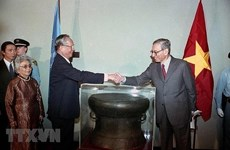 Resalta prensa de Camboya y Estados Unidos carrera del expresidente vietnamita Le Duc Anh