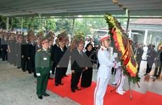 Efectúan ceremonia fúnebre en memoria del expresidente Le Duc Anh