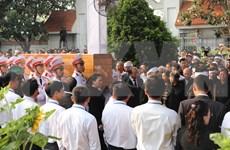 Descansa expresidente vietnamita Le Duc Anh en cementerio de Ciudad Ho Chi Minh