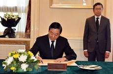 Expresan en China condolencias por fallecimiento del expresidente Le Duc Anh