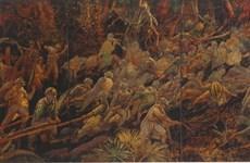 La histórica victoria de Dien Bien Phu a través de pinturas