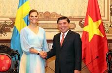 Ciudad Ho Chi Minh llama a empresas suecas a aumentar cooperación en tratamiento de agua