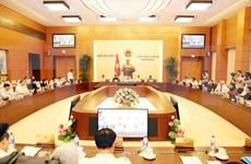 Presidenta del Parlamento de Vietnam preside sesión 34 del Comité Permanente