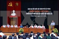 Valora primer ministro de Vietnam desarrollo socioeconómico de ciudad de Hai Phong