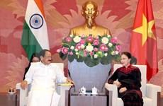 Resaltan fortalecimiento de nexos parlamentarios entre Vietnam y la India