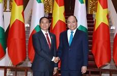 Planean Vietnam y Myanmar ampliar cooperación en sectores potenciales