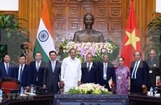 Vietnam e India acuerdan ampliar cooperación en múltiples sectores