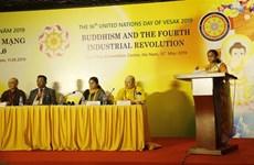Celebran en Vietnam seminario sobre el budismo y la cuarta revolución industrial