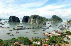 Presidente de Myanmar visita la bahía de Ha Long