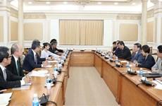 Impulsan conexión entre Ciudad Ho Chi Minh e inversores japoneses