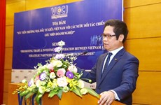 Promueve Vietnam las inversiones y el comercio con socios estratégicos