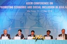 Efectúan en Vietnam conferencia de la ASEM sobre desarrollo inclusivo