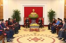 Promueven intercambio juvenil entre Vietnam y Laos