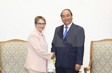 Primer ministro de Vietnam recibe a ministra de Agricultura de Brasil
