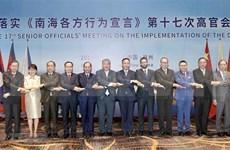 Altos funcionarios de ASEAN y China debaten la implementación del DOC