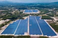 Planta fotovoltaica de provincia vietnamita conecta a la red nacional de electricidad