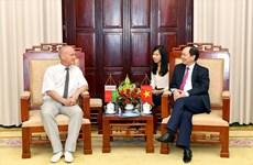 Sindicatos de Vietnam y Belarús intercambian experiencias sobre protección de trabajadores