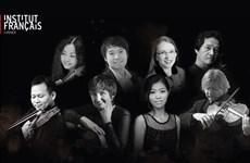 Presentarán en Hanoi un concierto internacional de música de cámara