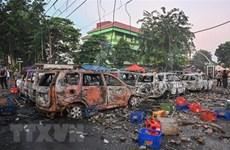Manifestaciones en Indonesia afectan a los negocios