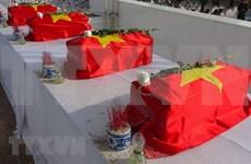 Repatrían restos de soldados vietnamitas caídos en Laos y Camboya