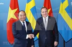 Abogan premieres de Vietnam y Suecia por firma pronta de EVFTA
