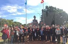 Rinden homenaje en Argentina al Presidente Ho Chi Minh en el 129 aniversario de su natalicio